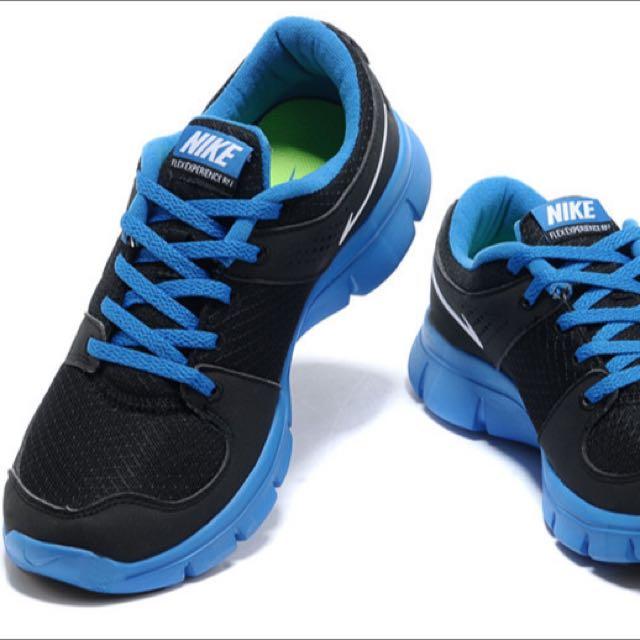 NIKE AIR Runners Black & Blue