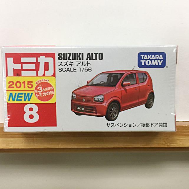 TOMY多美汽車NO.8