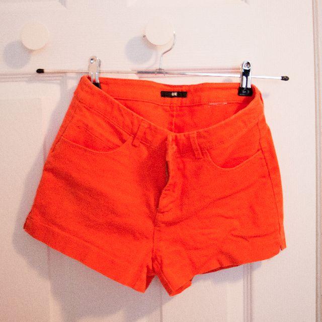 Orange H&M Shorts