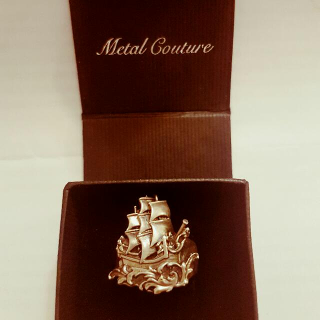 Original 'Metal Couture' Mens Ring