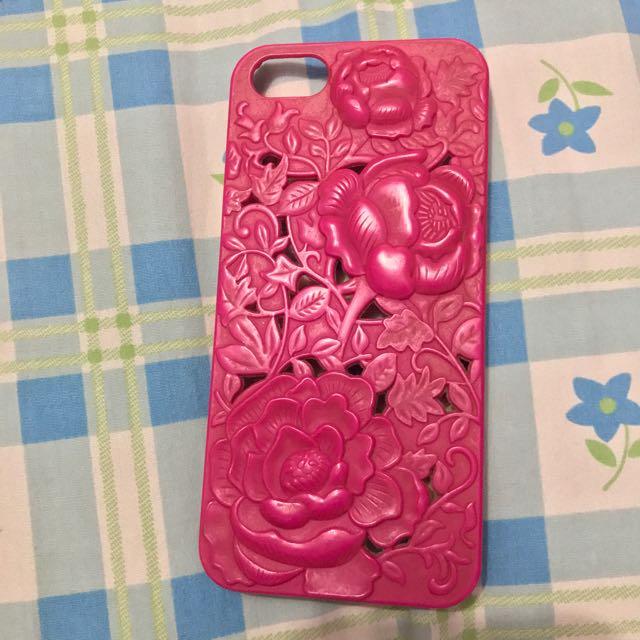 Pink Flower 3d Hardcase