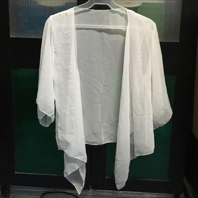 PROMO: White Kimono