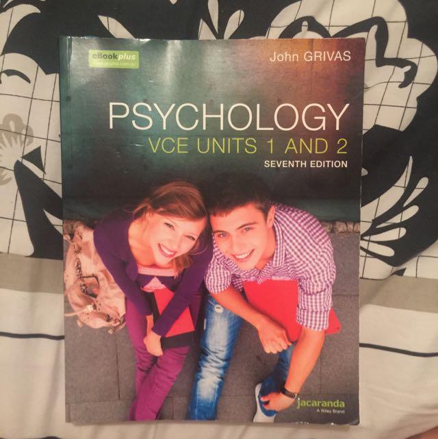 Psychology Textbook Unit 1&2