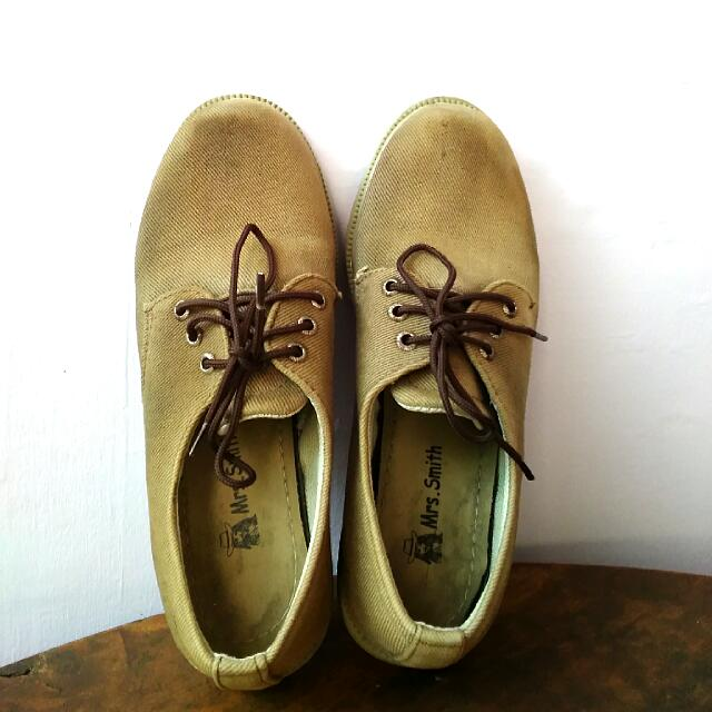 (REPRICE) Brown Shoes