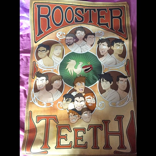 Rooster Teeth Nouveau Poster