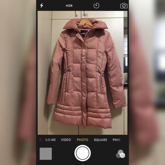 戶外用品店購入Samlix女版羽絨長版大衣M號