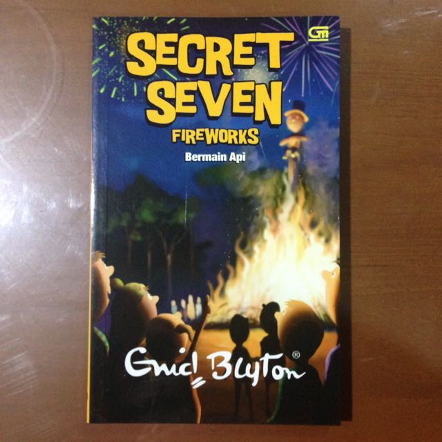 Sapta Siaga (Secret Seven) - 11. Bermain Api