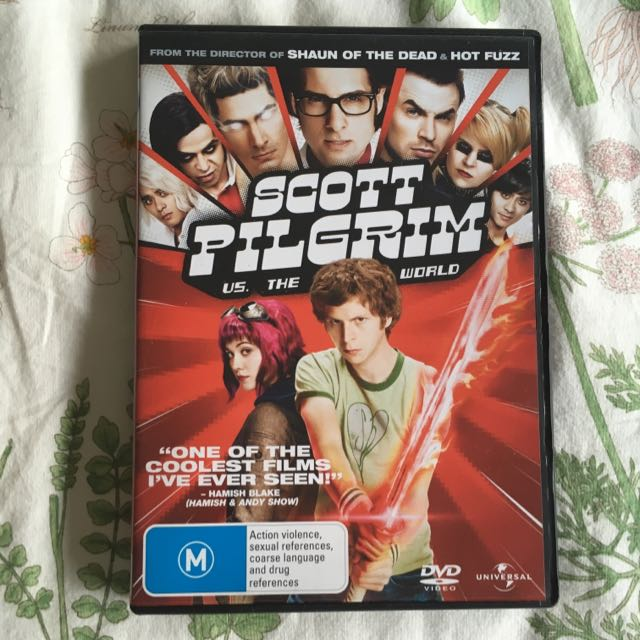 Scott Pilgrim Vs The World DVD