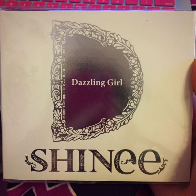 SHINee Dazzling Girl Japan Album