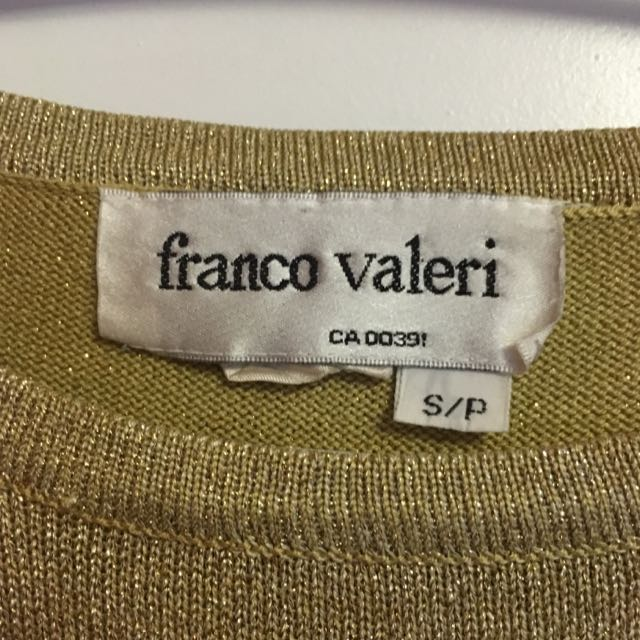 Small Franco Valeri Long Sleeve