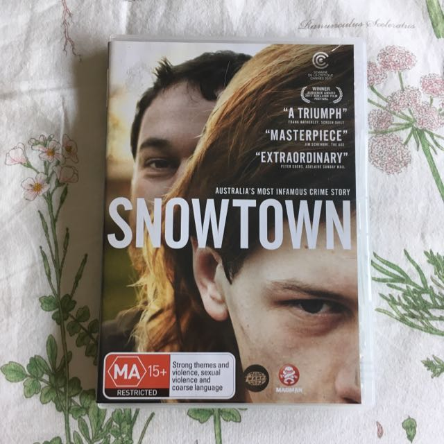 Snowtown DVD