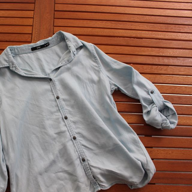 Sportsgirls Denim Shirt Size 6