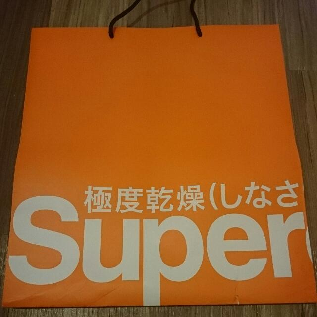 Superdry 極度乾燥 紙袋