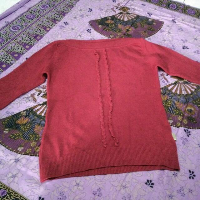 Reprice Take all!!! 2 Red Sweater
