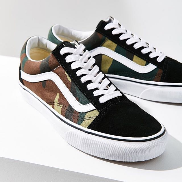Vans x uo camo old skool 美國代購