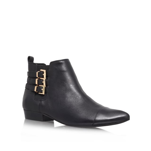 Vince Camuto Ankle Boots Black Genuine Leather