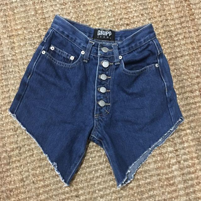 Vintage Denim Shorts Size 6