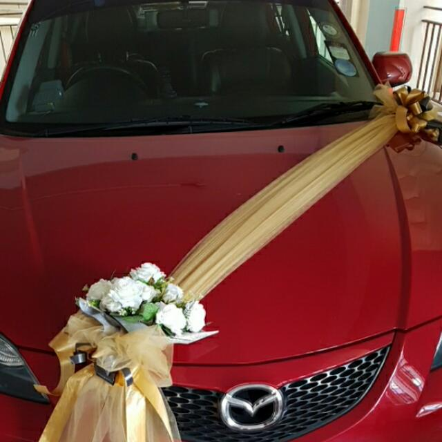 Wedding car decoration car accessories on carousell junglespirit Gallery
