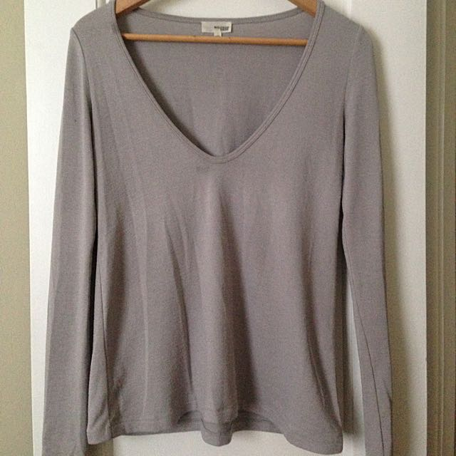 WILFRED - Plunging Top
