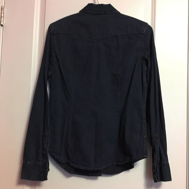 XS Gap Jean Long Sleeve Shirt
