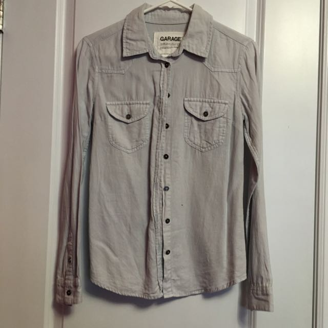 XS Garage Jean Long Sleeve Shirt