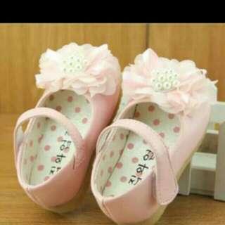 現貨12.5公分 女寶寶 學步鞋