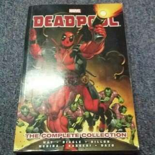 Marvel's Deadpool The Complete Collection By Daniel Way Vol 1