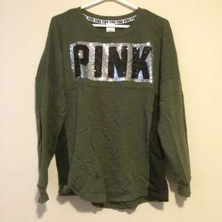 Green Long Sleeve From Pink