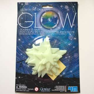 GLOW- Glow In The Dark Stars