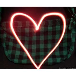 Divided H&M Green Black Plaid Bag Purse