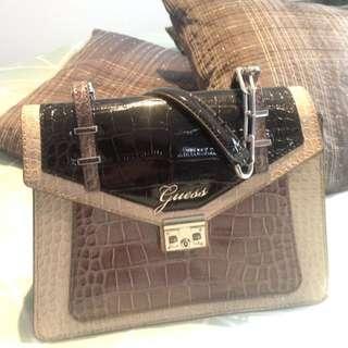 Guess Patent Handbag