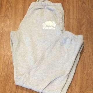 Plain Grey Women's Roots Trackpants