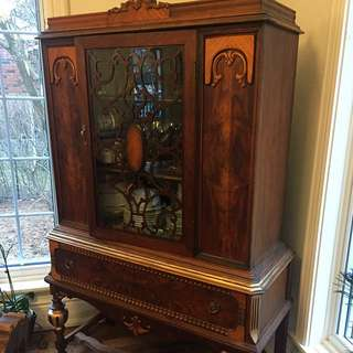 1920s Colonial Revival Hutch/ Cabinet