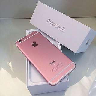 Iphone 6s 64GB Rose Gold (RESERVED)