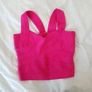 Pink Bandage Crop