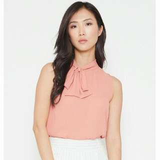 💰BNWT MDS Annette Top In Pink (L)