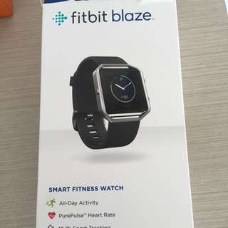 Fitbit Blaze In Black Size L