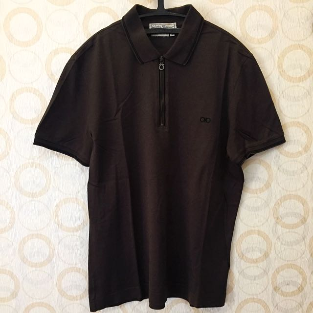 100% Authentic Salvatore Ferragamo Polo T-Shirt