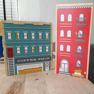 Adorable Wooden Shopfront Decor Series From CB2
