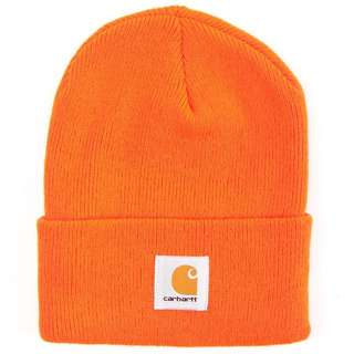 Carhartt Orange Acrylic Watch Hat