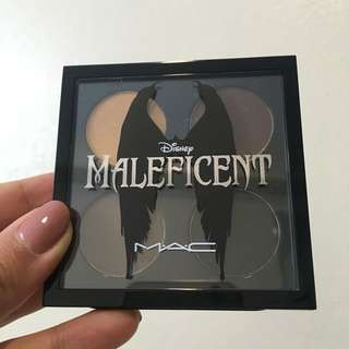 BNIB Maleficent Mac Eyeshadow Palette