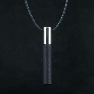 Valentine's day Special: Lockstone One Steel Pendant & Black Stone
