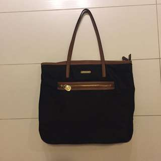 Michael Kors Half Leather Tote