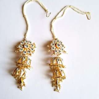 Traditional Indian jewels