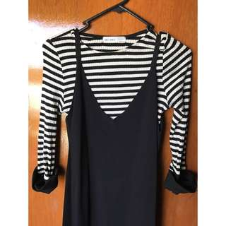 Two Piece Vintage Dress