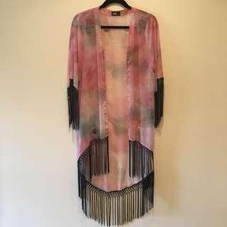Sheer Dotti Kimono