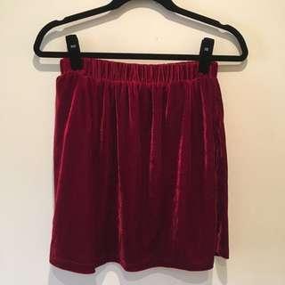 Velvet Glassons Skirt