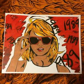 Taylor Swift 1989 Pop Art