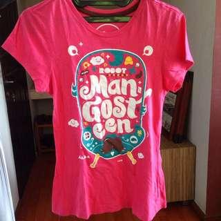 Mangosteen Pink Tshirt