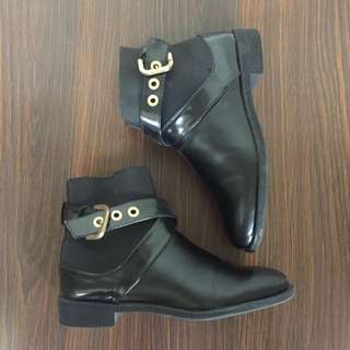 ZARA Boots Leather Size 36